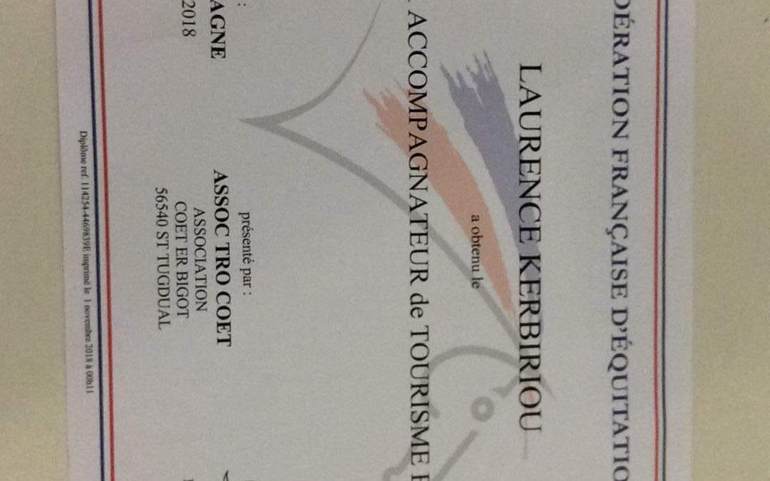 Félicitations Laurence Kerbiriou