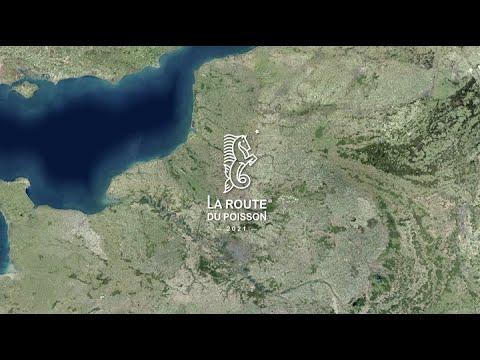 Le tracé de La Route du Poisson en 3D